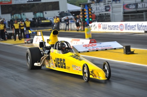 The super-quick Jegs Super Comp dragster