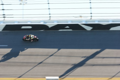 Another Way to Fly: On the Famed Daytona 500 Race Track as Chris Ulrich Guides his GEICO Missle (Photo Brian J Nelson)